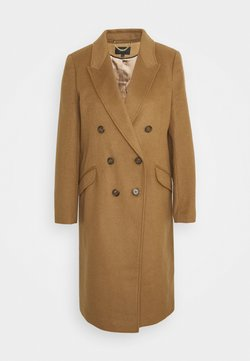 J.CREW - DOUBLE-BREASTED TOPCOAT - Classic coat - sienna