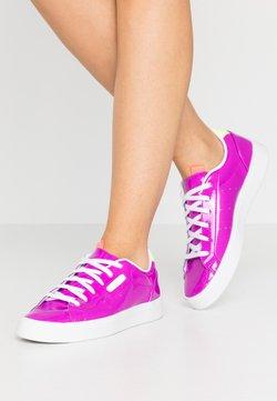 adidas Originals - SLEEK - Sneaker low - shock purple/hi-res yellow/signal pink