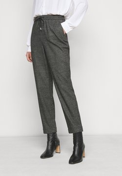 Dorothy Perkins Tall - CHECK FORMAL JOGGER - Trousers - grey
