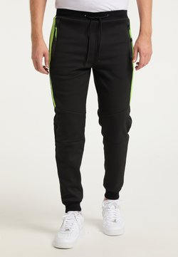Mo - Jogginghose - schwarz grün