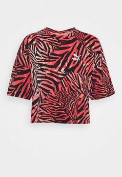 Puma - BOYFRIEND TEE - T-Shirt print - apricot blush