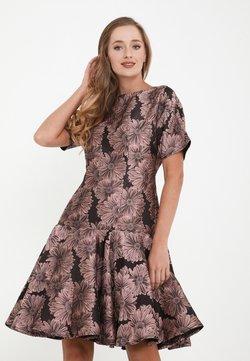 Madam-T - SACASA - Cocktailkleid/festliches Kleid - dunkelrosa, schwarz