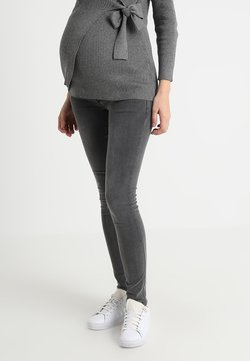 MAMALICIOUS - MLLOLA - Jeans Skinny Fit - grey denim