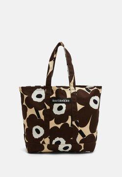 Marimekko - PERUSKASSI PIENI UNIKKO - Shopping bag - beige/brown/off white