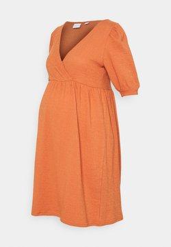 MAMALICIOUS - MLBRANCH TESS DRESS - Sukienka z dżerseju - autumn leaf