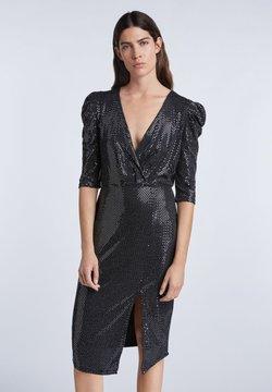 SET - Cocktailkleid/festliches Kleid - silver black