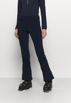 CMP - WOMAN LONG PANT WITH INNER GAITER - Talvihousut - blue