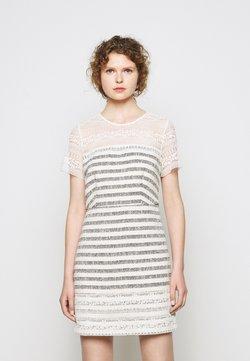 TWINSET - Sukienka letnia - stuoia avorio blu