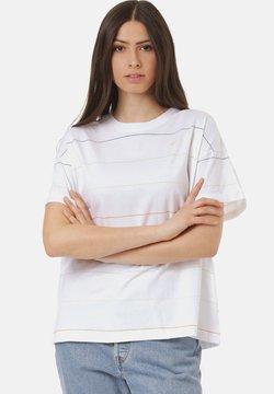 Cleptomanicx - T-Shirt print - white