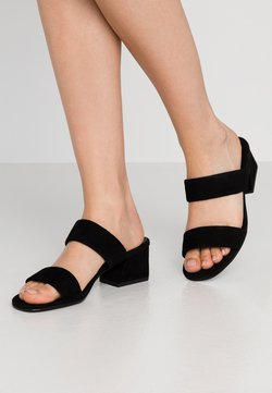 Vagabond - ELENA - Pantolette hoch - black