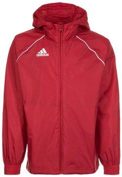 adidas Performance - CORE 18 RAIN JACKET - Trainingsjacke - red/white