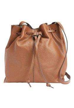 Next - BUCKET BAG - Umhängetasche - brown