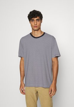 ARKET - T-SHIRT - Basic T-shirt - blue medium dusty