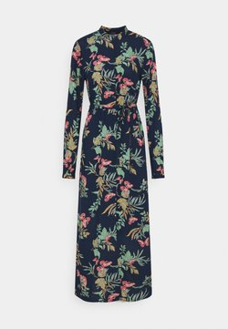 Vero Moda Tall - VMSIMPLY EASY LONG SHIRT DRESS - Maxikleid - navy blazer