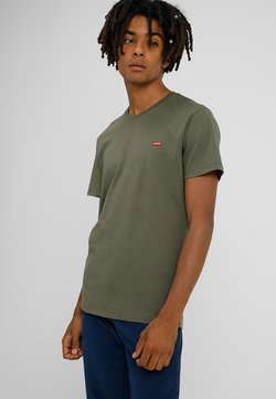 Levi's® - ORIGINAL TEE - T-shirts basic - cotton patch olive night