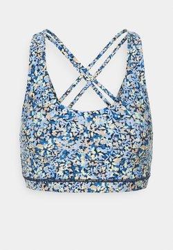 Cotton On Body - STRAPPY SPORTS CROP - Sports bra - ditsy blue
