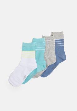 camano - WOMEN SOCKS 4 PACK - Socken - white