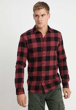 Only & Sons - ONSGUDMUND CHECKED - Hemd - maroon