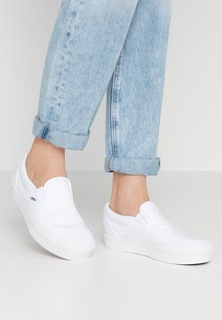 Vans - CLASSIC - Loaferit/pistokkaat - true white