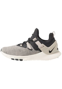 Nike Performance - FLEXMETHOD TRAINER - Trainings-/Fitnessschuh - dark smoke grey/black/string/pale ivory