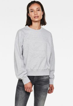 G-Star - LOOSE - Sweatshirt - cool grey htr
