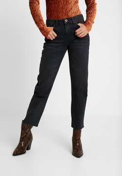 Pieces - PCHOLLY - Jeans a sigaretta - black