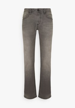 camel active - REGULAR - Jeans Straight Leg - grey denim