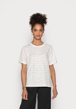 edc by Esprit - CORE COO SLUB  - T-Shirt print - off white