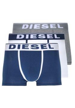 Diesel - DAMIEN 3 PACK - Panties - dunkelblau/weiß/grau