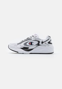 Champion - LOW CUT SHOE LEXINGTON 200 REFLECT - Trainings-/Fitnessschuh - white/new black