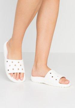 Crocs - CLASSIC SLIDE - Badslippers - white