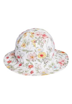 Next - FLORAL/STRIPE REVERSIBLE - Cap - pink
