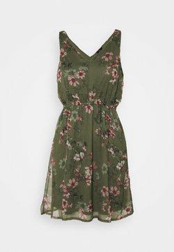 Vero Moda Petite - VMWONDA NEW SINGLET DRESS - Freizeitkleid - kalamata