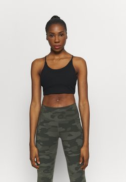 Cotton On Body - CROP - Sport BH - black