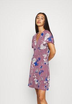 Vero Moda - VMKATINKA SHORT DRESS - Day dress - rose brown/katinka