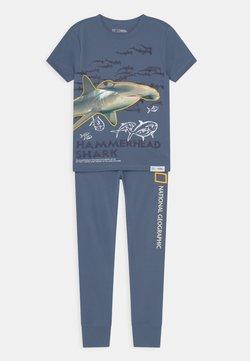 GAP - BOY SHARK  - Pyjama - chrome blue