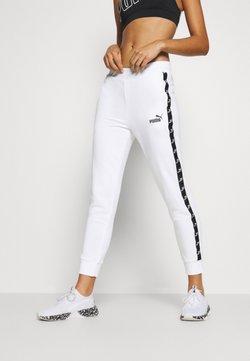 Puma - AMPLIFIED PANTS - Jogginghose - white