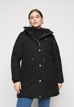 Ragwear Plus - CANNY - Wintermantel - black