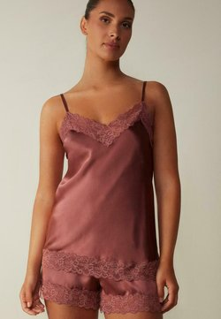 Intimissimi - AUS SEIDE UND SPITZE - Nachtwäsche Shirt - rosa  dusty pink