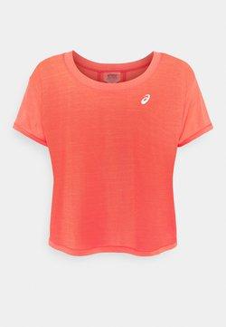 ASICS - RACE CROP - T-Shirt print - pink grapefruit