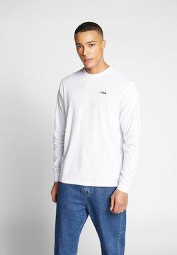 Fila - EITAN LONG SLEEVE - Long sleeved top - bright white