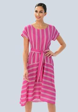 Alba Moda - Freizeitkleid - pink weiß