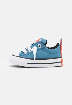 Converse - CHUCK TAYLOR ALL STAR STREET SUMMER COLOR UNISEX - Sneakers basse - aegean storm/bright poppy/black