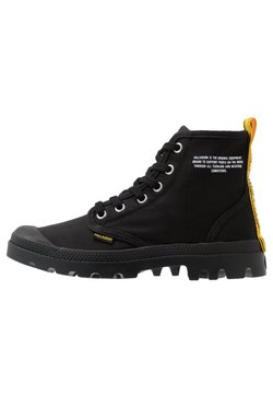 Palladium - PAMPA DARE SAFETY - Nauhalliset nilkkurit - black