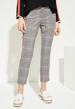 comma casual identity - Stoffhose - red