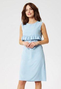 usha - Vestido de tubo - Light Blue