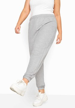 Yours Clothing - LIMITED COLLECTION GREY BASIC - Jogginghose - grey