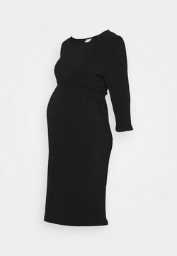 MAMALICIOUS - MLCAROLINE DRESS - Jerseykleid - black