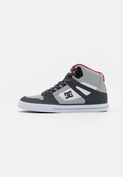 DC Shoes - PURE - Skateschoenen - grey/red/white