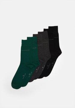 TOM TAILOR - SOCKS UNI BASIC COLORED 6 PACK - Socken - dark green